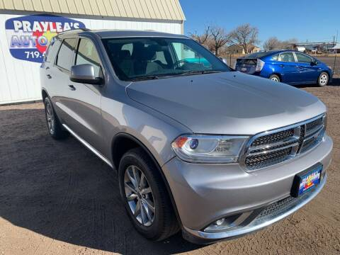 2016 Dodge Durango for sale at Praylea's Auto Sales in Peyton CO