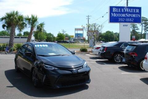 2017 Toyota Corolla for sale at BlueWater MotorSports in Wilmington NC