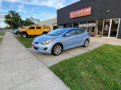 2012 Hyundai Elantra for sale at HOUSE OF CARS CT in Meriden CT