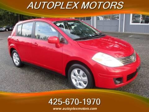 2008 Nissan Versa for sale at Autoplex Motors in Lynnwood WA