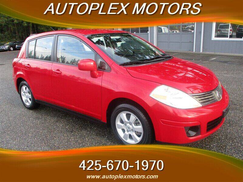 2008 Nissan Versa for sale at Autoplex Motors in Lynnwood WA