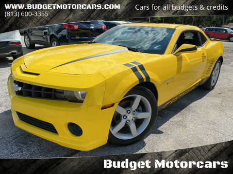 2012 Chevrolet Camaro for sale at Budget Motorcars in Tampa FL