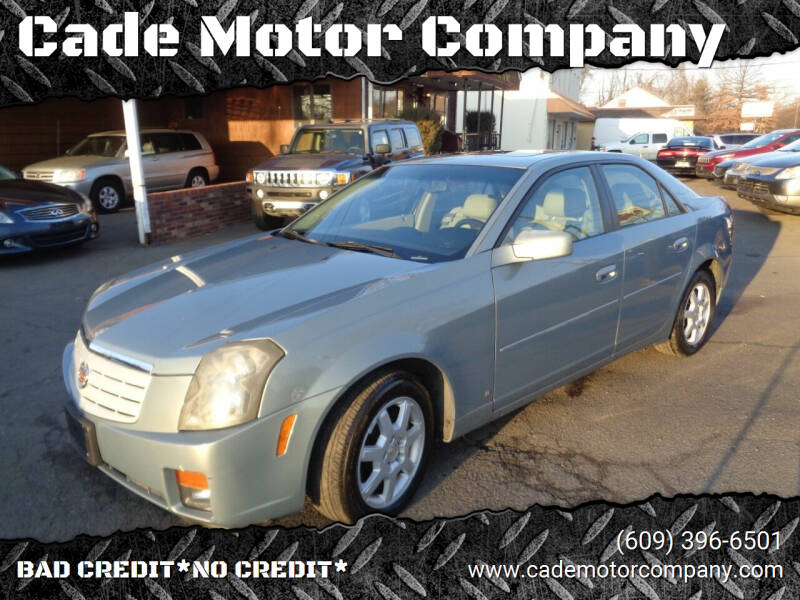 2007 Cadillac CTS for sale at Cade Motor Company in Lawrenceville NJ