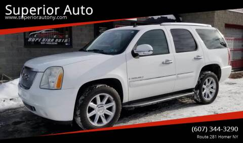 2008 GMC Yukon for sale at Superior Auto in Cortland NY