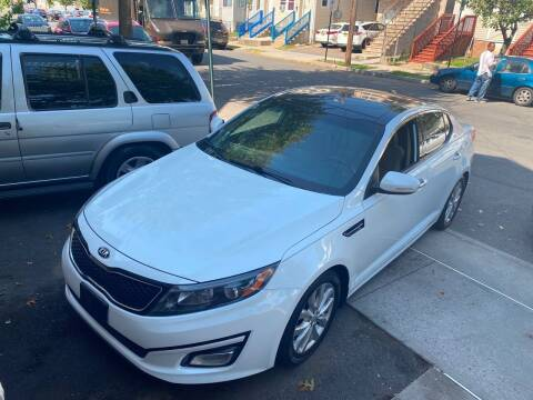 2014 Kia Optima for sale at DEALS ON WHEELS in Newark NJ