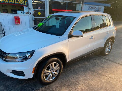 2012 Volkswagen Tiguan for sale at TOP OF THE LINE AUTO SALES in Fayetteville NC