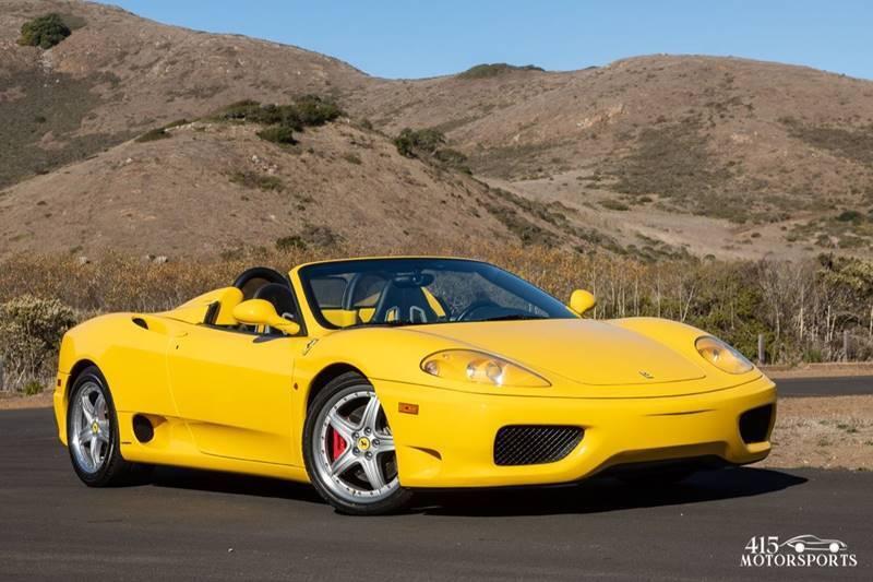 2001 Ferrari 360 Spider for sale at 415 Motorsports in San Rafael CA