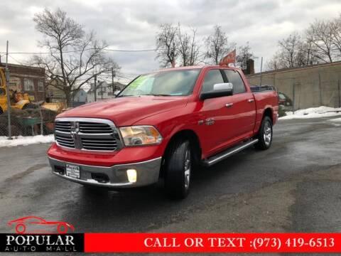 2014 RAM Ram Pickup 1500 for sale at Popular Auto Mall Inc in Newark NJ