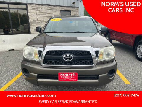 2011 Toyota Tacoma for sale at NORM'S USED CARS INC in Wiscasset ME