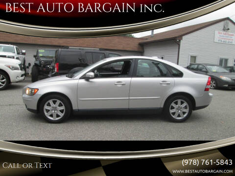2007 Volvo S40 for sale at BEST AUTO BARGAIN inc. in Lowell MA