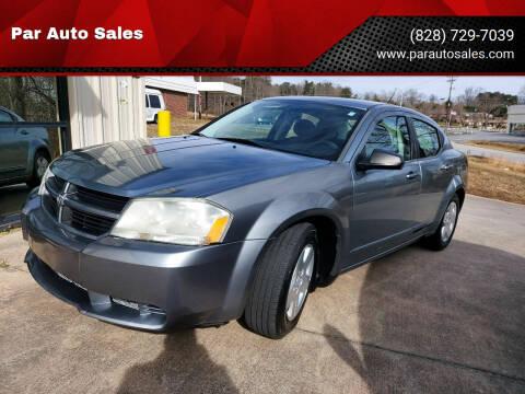 2009 Dodge Avenger for sale at Par Auto Sales in Lenoir NC