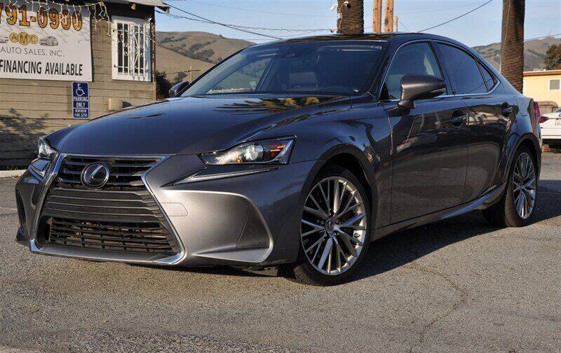 2017 Lexus IS 200t for sale at AMC Auto Sales, Inc. in Fremont CA