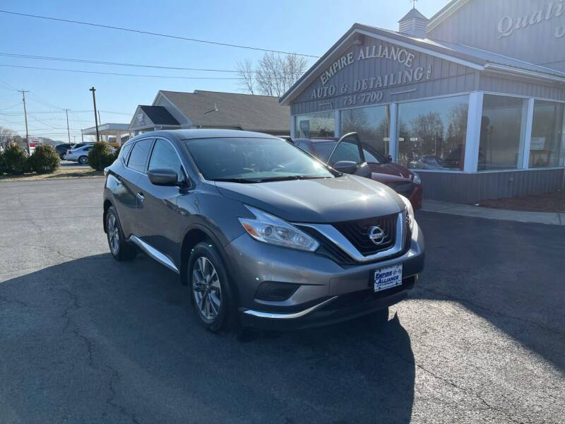 2017 Nissan Murano for sale at Empire Alliance Inc. in West Coxsackie NY
