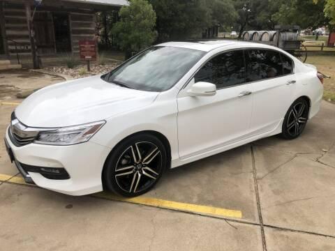 2016 Honda Accord for sale at Village Motors Of Salado in Salado TX