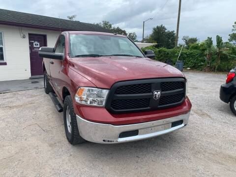 2013 RAM Ram Pickup 1500 for sale at Excellent Autos of Orlando in Orlando FL