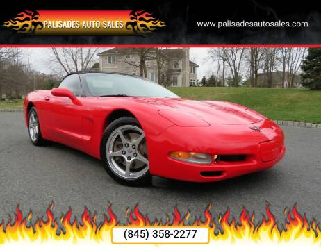 2002 Chevrolet Corvette for sale at PALISADES AUTO SALES in Nyack NY