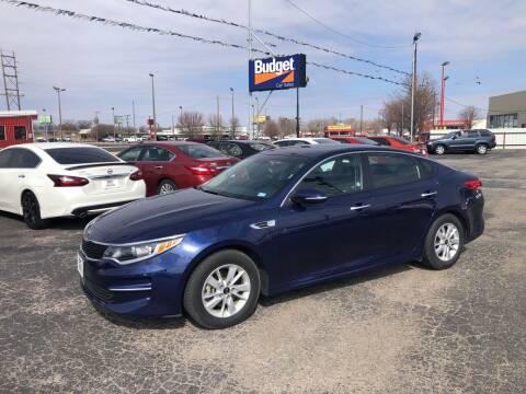2018 Kia Optima for sale at BUDGET CAR SALES in Amarillo TX