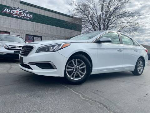 2017 Hyundai Sonata for sale at All-Star Auto Brokers in Layton UT