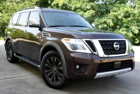 2017 Nissan Armada for sale at CU Carfinders in Norcross GA