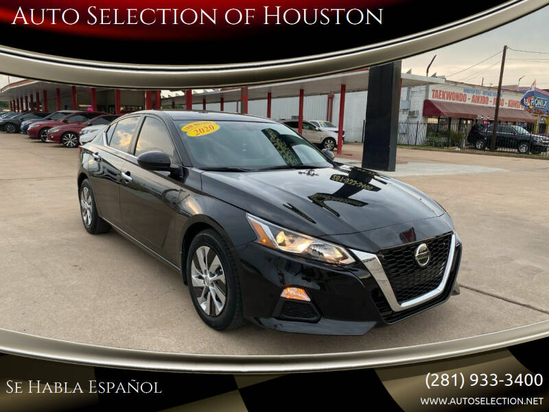 2020 Nissan Altima for sale at Auto Selection of Houston in Houston TX