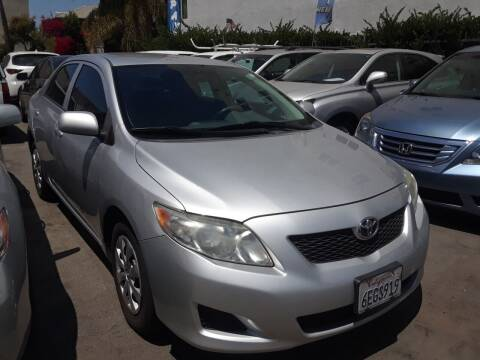 2009 Toyota Corolla for sale at Western Motors Inc in Los Angeles CA
