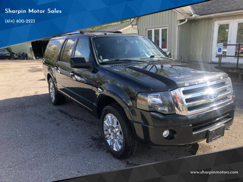 2012 Ford Expedition EL for sale at Sharpin Motor Sales in Columbus OH