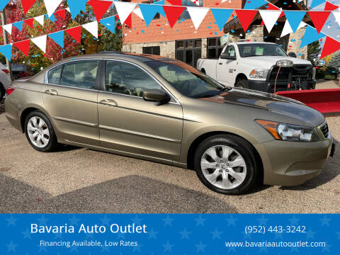 2009 Honda Accord for sale at Bavaria Auto Outlet in Victoria MN
