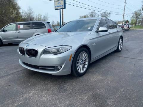 2013 BMW 5 Series for sale at Erie Shores Car Connection in Ashtabula OH