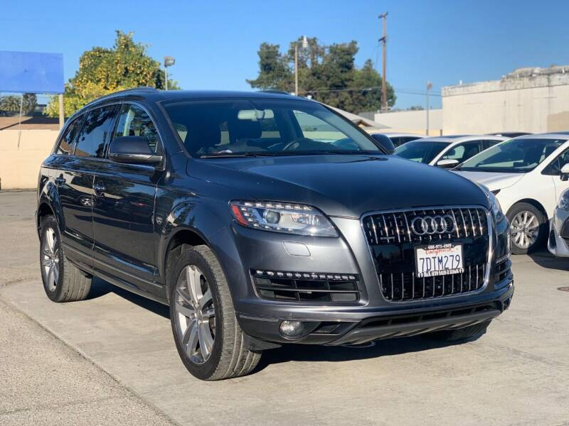 2014 Audi Q7 for sale at H & K Auto Sales & Leasing in San Jose CA