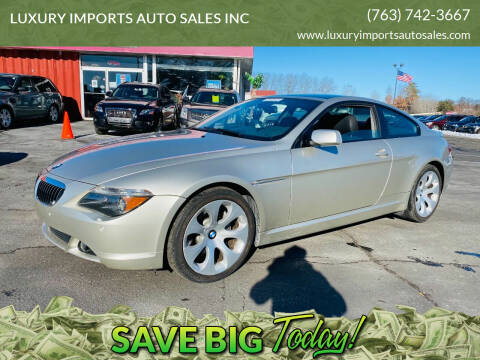 2005 BMW 6 Series for sale at LUXURY IMPORTS AUTO SALES INC in North Branch MN