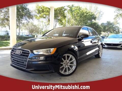 2015 Audi A3 for sale at University Mitsubishi in Davie FL