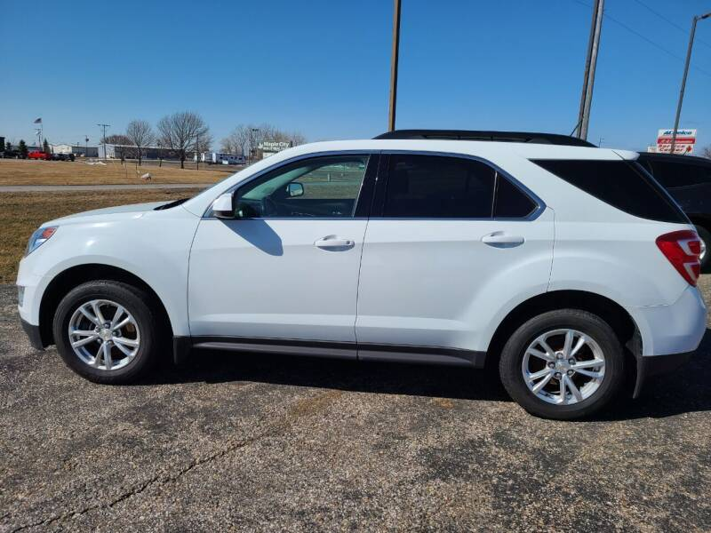 2017 Chevrolet Equinox for sale at RAP Automotive in Goshen IN