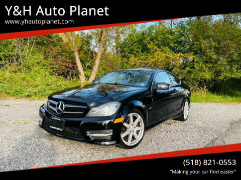 2012 Mercedes-Benz C-Class for sale at Y&H Auto Planet in West Sand Lake NY