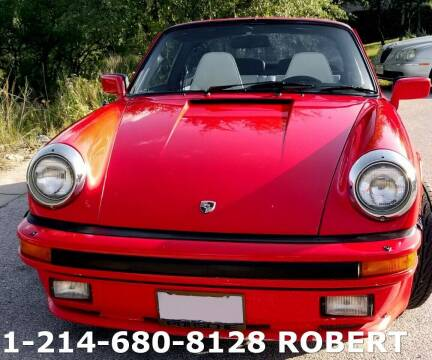 1983 Porsche 911 for sale at Mr. Old Car in Dallas TX