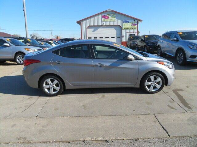 2013 Hyundai Elantra for sale at Jefferson St Motors in Waterloo IA