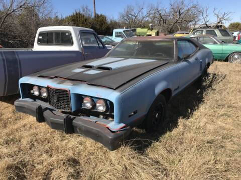 1973 Mercury Montego for sale at CLASSIC MOTOR SPORTS in Winters TX