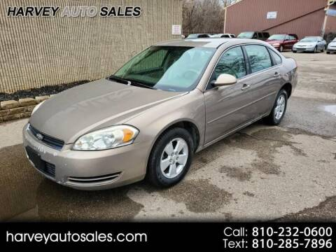 2007 Chevrolet Impala for sale at Harvey Auto Sales, LLC. in Flint MI