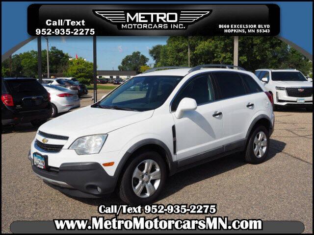 2014 Chevrolet Captiva Sport for sale at Metro Motorcars Inc in Hopkins MN