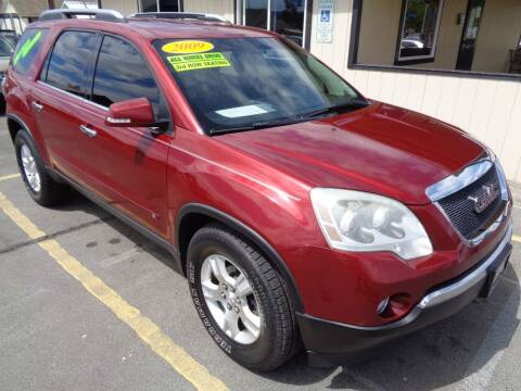 2009 GMC Acadia for sale at BBL Auto Sales in Yakima WA