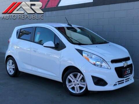 2015 Chevrolet Spark for sale at Auto Republic Fullerton in Fullerton CA