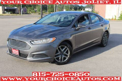 2013 Ford Fusion for sale at Your Choice Autos - Joliet in Joliet IL
