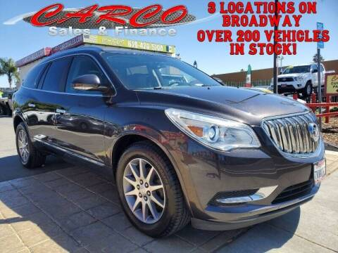 2013 Buick Enclave for sale at CARCO SALES & FINANCE in Chula Vista CA