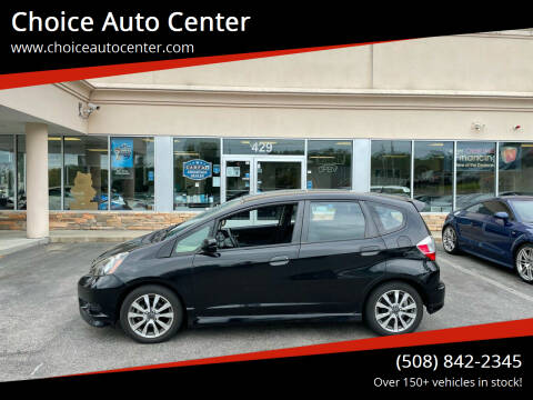 2013 Honda Fit for sale at Choice Auto Center in Shrewsbury MA