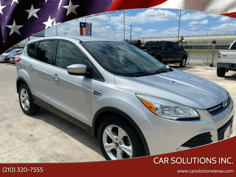 2014 Ford Escape for sale at Car Solutions Inc. in San Antonio TX