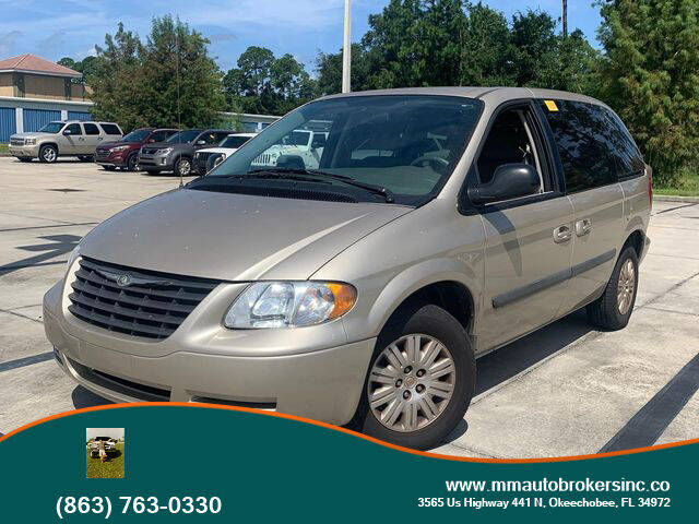 2005 Chrysler Town and Country for sale at M & M AUTO BROKERS INC in Okeechobee FL
