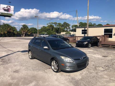 2010 Hyundai Elantra Touring for sale at Friendly Finance Auto Sales in Port Richey FL