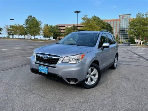 2015 Subaru Forester for sale at Crown Auto Group in Falls Church VA