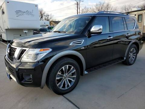 2018 Nissan Armada for sale at Kell Auto Sales, Inc - Grace Street in Wichita Falls TX