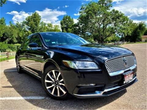2017 Lincoln Continental for sale at CarDen in Denver CO