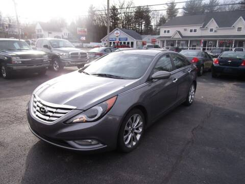 2013 Hyundai Sonata for sale at Route 12 Auto Sales in Leominster MA